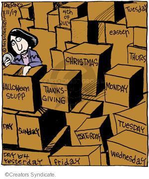 Comic Strip John Deering  Strange Brew 2013-11-19 Wednesday