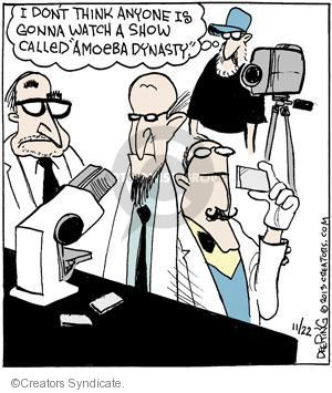 Comic Strip John Deering  Strange Brew 2013-11-22 reality television