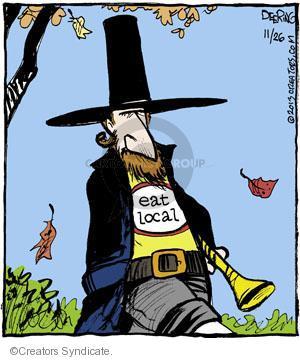 Comic Strip John Deering  Strange Brew 2013-11-26 Thanksgiving