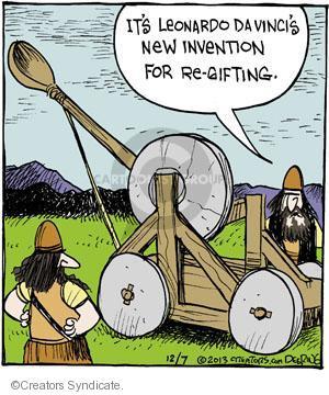 Comic Strip John Deering  Strange Brew 2013-12-07 inventor