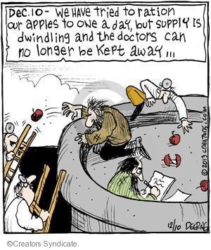 Cartoonist John Deering  Strange Brew 2013-12-10 supply