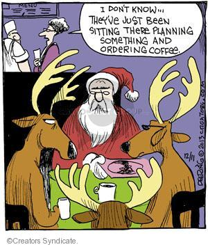 Cartoonist John Deering  Strange Brew 2013-12-11 eat