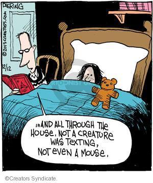 Comic Strip John Deering  Strange Brew 2013-12-12 'twas