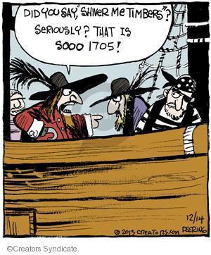 Comic Strip John Deering  Strange Brew 2013-12-14 language