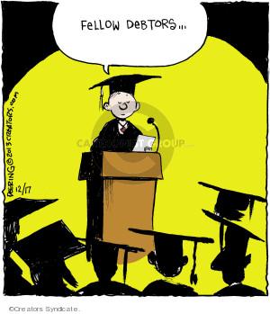 Cartoonist John Deering  Strange Brew 2013-12-17 student