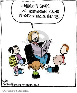 Comic Strip John Deering  Strange Brew 2013-12-18 'twas