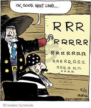 Comic Strip John Deering  Strange Brew 2013-12-21 vision