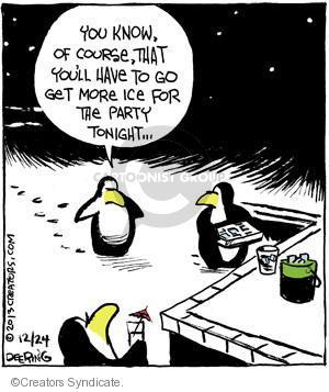 Cartoonist John Deering  Strange Brew 2013-12-24 tonight