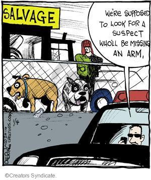 Comic Strip John Deering  Strange Brew 2014-01-04 attack