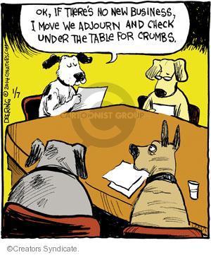 Comic Strip John Deering  Strange Brew 2014-01-07 new business