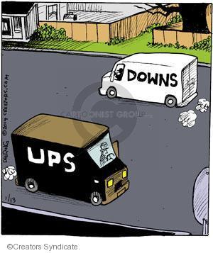 Comic Strip John Deering  Strange Brew 2014-01-13 postal