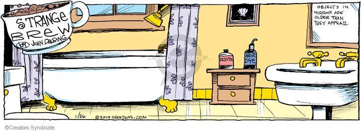 Comic Strip John Deering  Strange Brew 2014-01-26 product