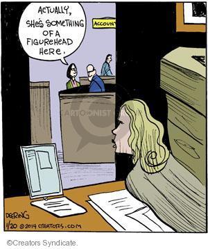 Comic Strip John Deering  Strange Brew 2014-01-20 department