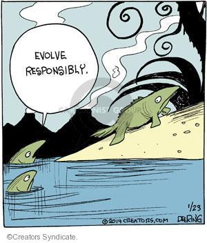 Comic Strip John Deering  Strange Brew 2014-01-23 amphibian