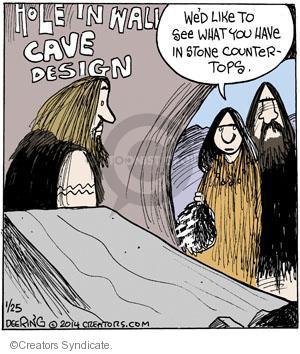 Cartoonist John Deering  Strange Brew 2014-02-01 kitchen