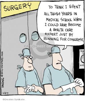 Comic Strip John Deering  Strange Brew 2014-01-27 school