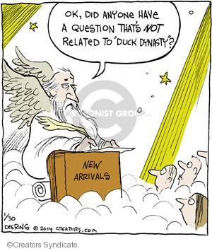 Comic Strip John Deering  Strange Brew 2014-01-30 heaven