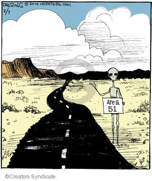 Comic Strip John Deering  Strange Brew 2014-02-07 fifty-one