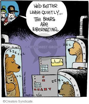 Comic Strip John Deering  Strange Brew 2014-02-10 wildlife
