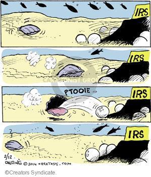 Cartoonist John Deering  Strange Brew 2014-02-12 tax