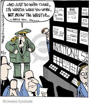 Comic Strip John Deering  Strange Brew 2014-02-17 NSA