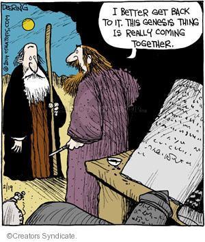 Comic Strip John Deering  Strange Brew 2014-02-19 author