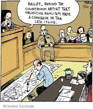 Comic Strip John Deering  Strange Brew 2014-02-24 subject matter