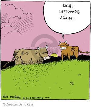 Cartoonist John Deering  Strange Brew 2014-03-24 eat