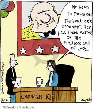 Comic Strip John Deering  Strange Brew 2014-03-26 focus
