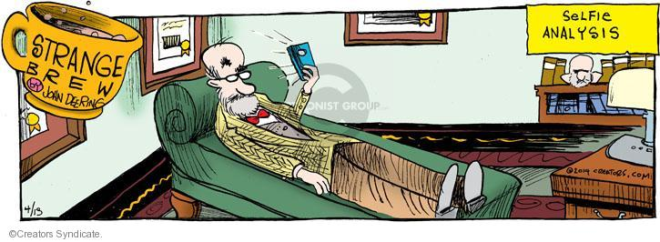 Comic Strip John Deering  Strange Brew 2014-04-13 psychology