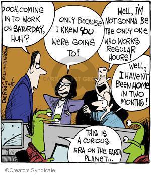 Comic Strip John Deering  Strange Brew 2014-04-05 earth