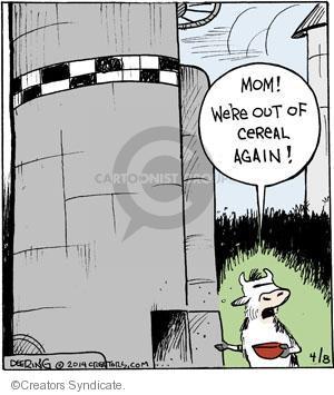 Comic Strip John Deering  Strange Brew 2014-04-08 food storage