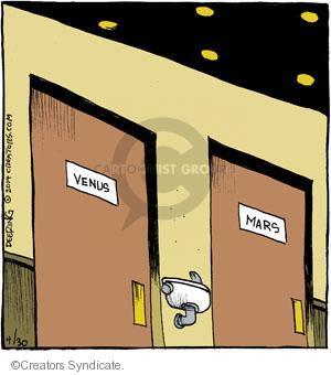Comic Strip John Deering  Strange Brew 2014-04-30 female