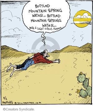 Comic Strip John Deering  Strange Brew 2014-05-02 spring