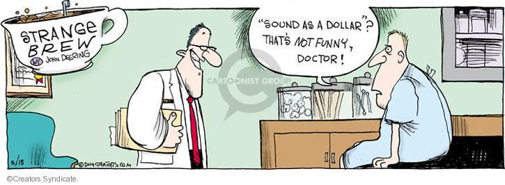 Comic Strip John Deering  Strange Brew 2014-05-18 care