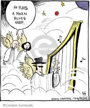 Comic Strip John Deering  Strange Brew 2014-05-09 heaven