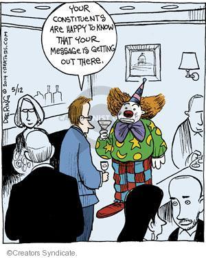 Comic Strip John Deering  Strange Brew 2014-05-12 happy