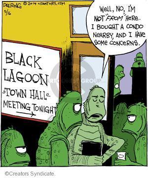Comic Strip John Deering  Strange Brew 2014-05-16 black