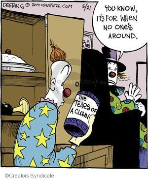 Comic Strip John Deering  Strange Brew 2014-05-21 cry