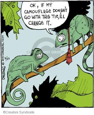 Comic Strip John Deering  Strange Brew 2014-05-23 change clothes
