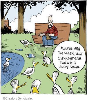 Comic Strip John Deering  Strange Brew 2014-05-26 feed