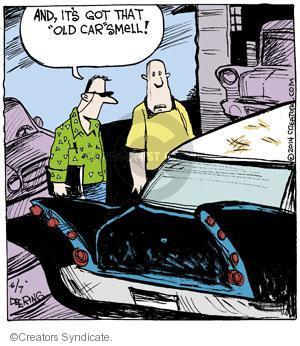 Comic Strip John Deering  Strange Brew 2014-06-07 get old