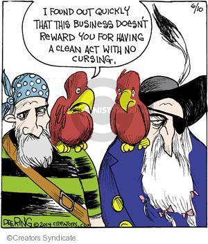 Comic Strip John Deering  Strange Brew 2014-06-10 curse