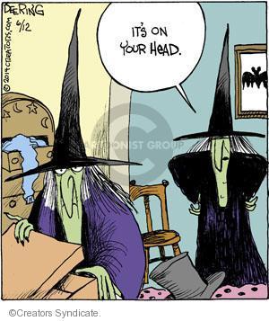 Comic Strip John Deering  Strange Brew 2014-06-12 your