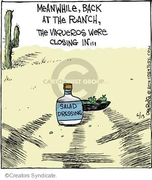 Comic Strip John Deering  Strange Brew 2014-06-13 rancher