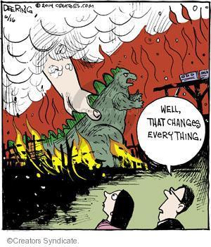 Comic Strip John Deering  Strange Brew 2014-06-16 playing
