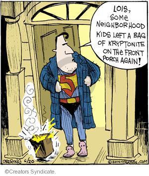Comic Strip John Deering  Strange Brew 2014-06-20 trick