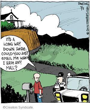 Comic Strip John Deering  Strange Brew 2014-07-01 notification