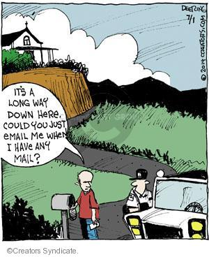 Comic Strip John Deering  Strange Brew 2014-07-01 postal
