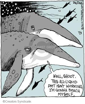 Comic Strip John Deering  Strange Brew 2014-07-10 aquatic